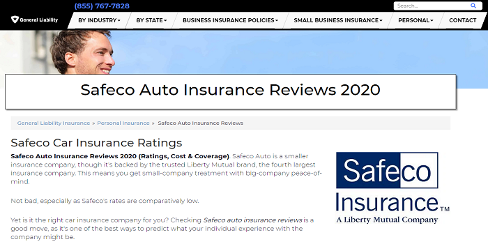 Safeco Car Insurance