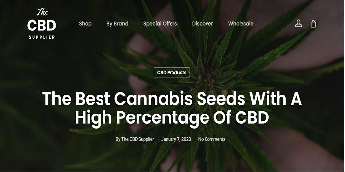 cbd seeds uk